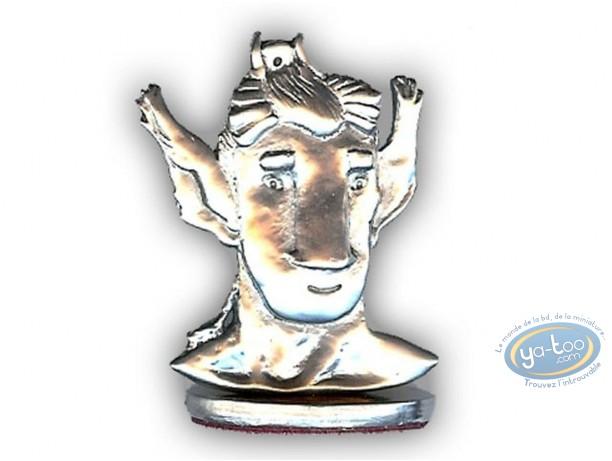 Figurine métal, Broussaille : Faune