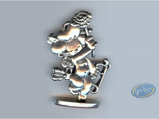 Figurine métal, Cupidon : Malik, Cupidon fleur