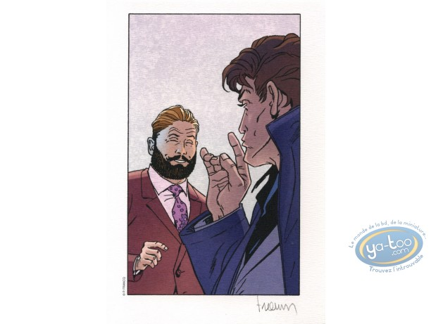 Ex-libris Offset, Largo Winch : Francq, Largo Winch