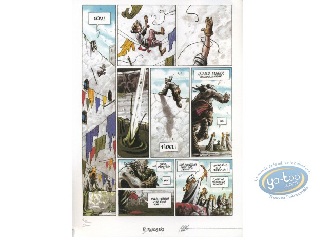 Ex-libris Offset, Troll : Troll : Planche