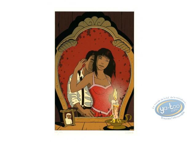 Affiche Sérigraphie, Jimmy Boy : Le Miroir