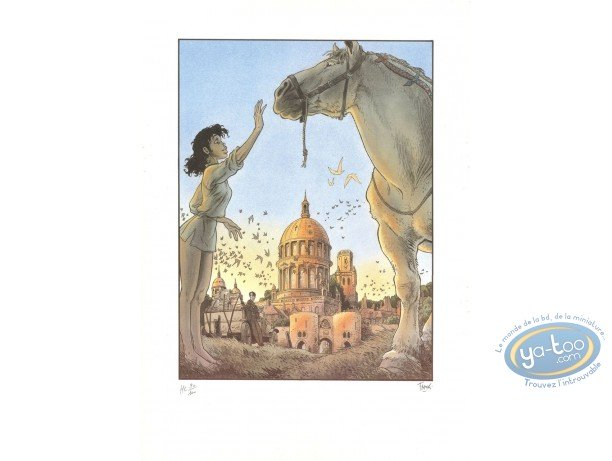 Affiche Offset, Zoo : Manon et le Cheval
