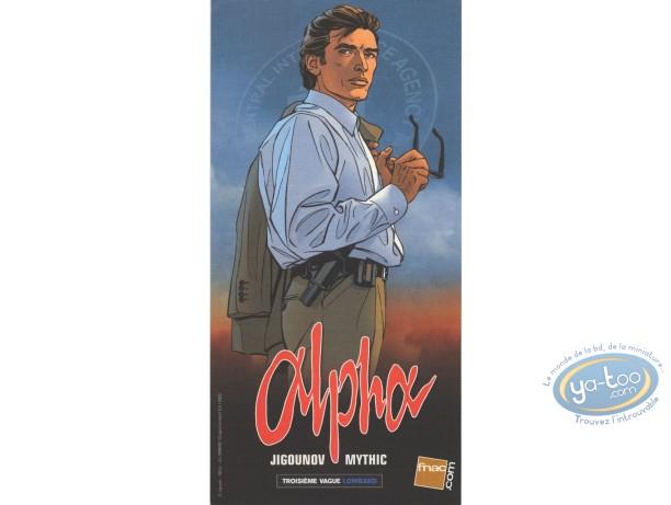 Ex-libris Offset, Alpha : Jigounov, Alpha