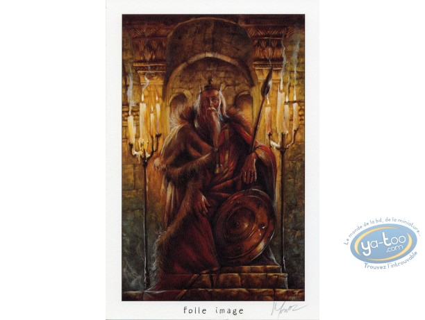 Ex-libris Offset, Graine de Folie (La) : Roi