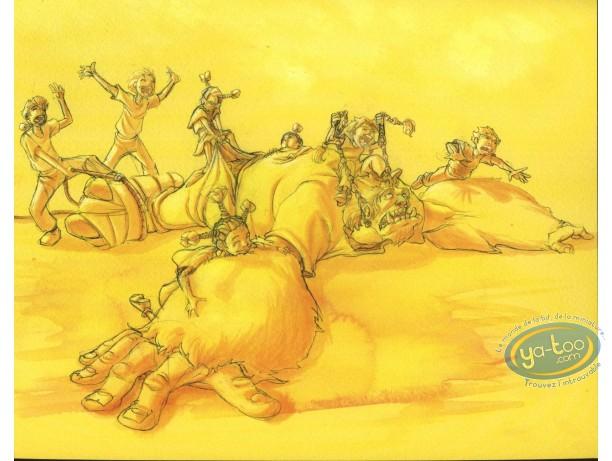 Ex-libris Offset, Troll : Enfants jouant