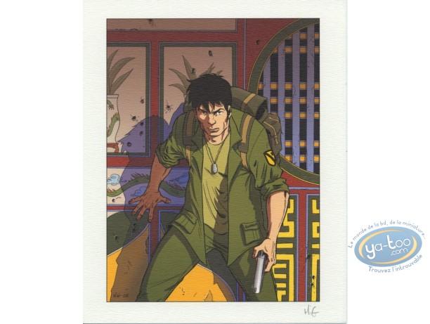 Ex-libris Offset, Sam Lawry : Soldat