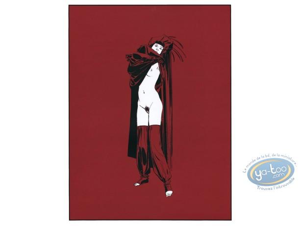 Affiche Sérigraphie, Chants Magnétiques : Chants Magnétiques Solitude
