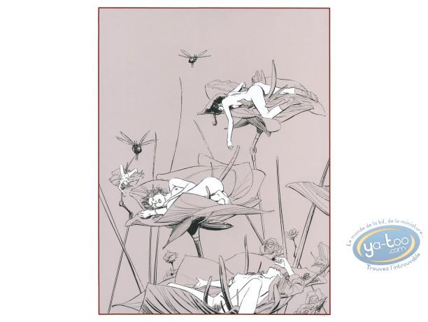Affiche Sérigraphie, Chants Magnétiques : Chants Magnétiques Bucolique 1