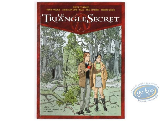 BD cotée, Triangle Secret (Le) : Le Jeune Homme au Suaire