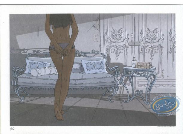 Ex-libris Offset, Nuit à Rome (Une) : Canapé