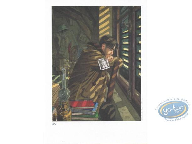 Ex-libris Offset, Sursis (Le) : Francois à la fenêtre