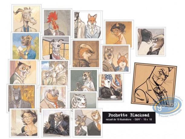 Portfolio, Blacksad : Recueil de 18 portraits
