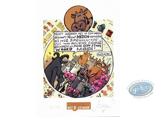 Ex-libris Offset, Vache (La) : Discours