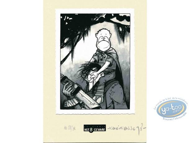Ex-libris Offset, Crache : Aveugle