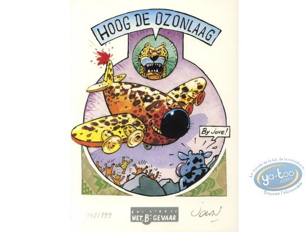 Ex-libris Offset, Vache (La) : avion