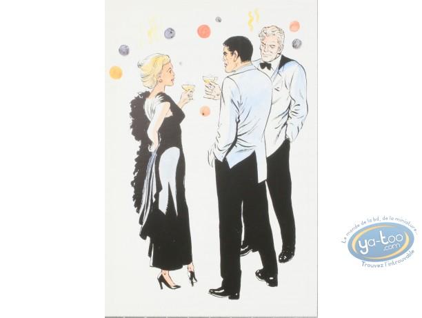 Carte postale, Bob Morane : Bob Morane : Carte postale Bob Morane et...vous souhaitent