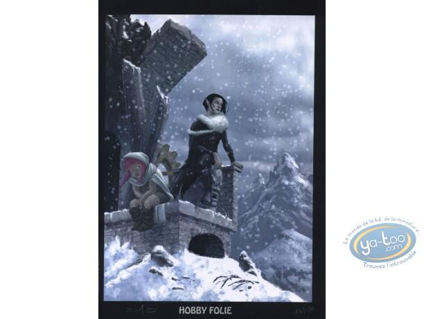 Ex-libris Offset, Seigneur d'Ombre (Le) : Neige