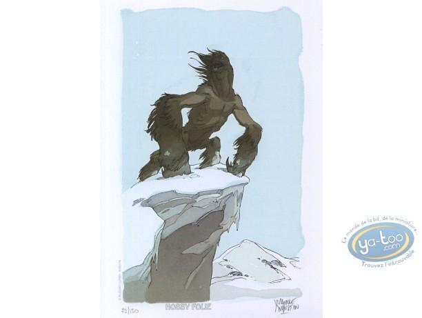 Ex-libris Offset, Alim le Tanneur : Monstre des neiges