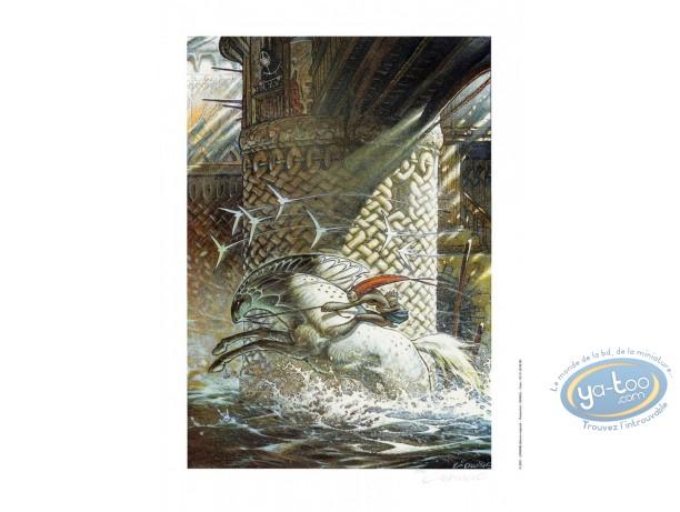 Affiche Offset, La chevauchée
