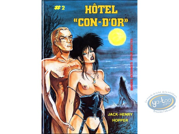 BD adultes, Hotel con-d'or