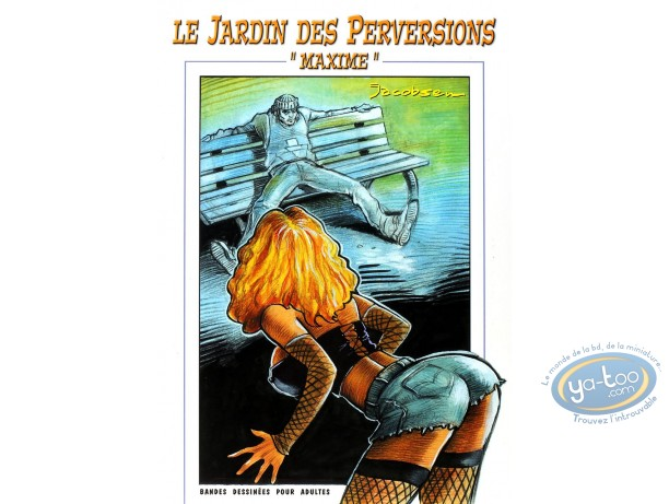 BD adultes, Le Jardin des perversions