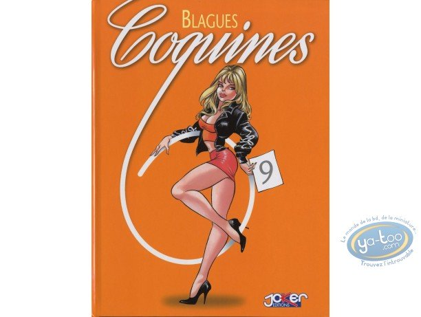 BD adultes, Blagues Coquines : Blagues Coquines, Tome 9