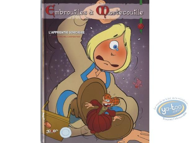 BD prix mini, Ambrouilles à Mortecouille : L' apprentie sorcière