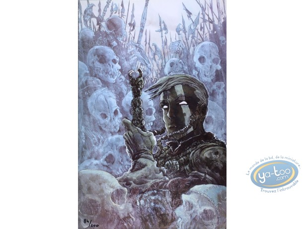 Affiche Offset, Gorn : Armée de cadavres