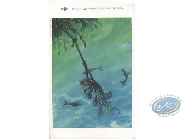 Ex-libris Offset, Pacush Blues - Les rats : sous l'eau