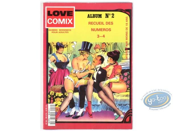 BD adultes, Love comix n 2, Recueil de 2 numéros