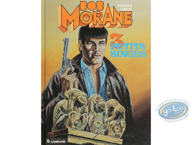 BD cotée, Bob Morane : Bob Morane, 3 petits singes