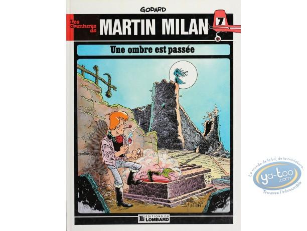 BD cotée, Martin Milan : Une Ombre est Passée