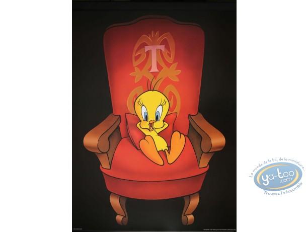 Affiche Offset, Titi : Titi Roi 60X80 cm