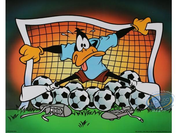 Affiche Offset, Daffy Duck : Daffy goal 50X40 cm