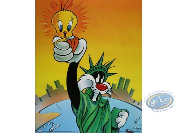 Affiche Offset, Titi : Rendez-moi ma liberté 40X50 cm