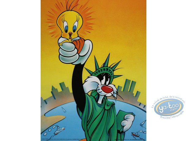 Affiche Offset, Titi : Rendez-moi ma liberté 30X40 cm