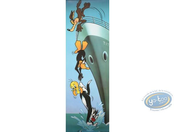 Affiche Offset, Looney Tunes (Les) : Titanic 30X90 cm
