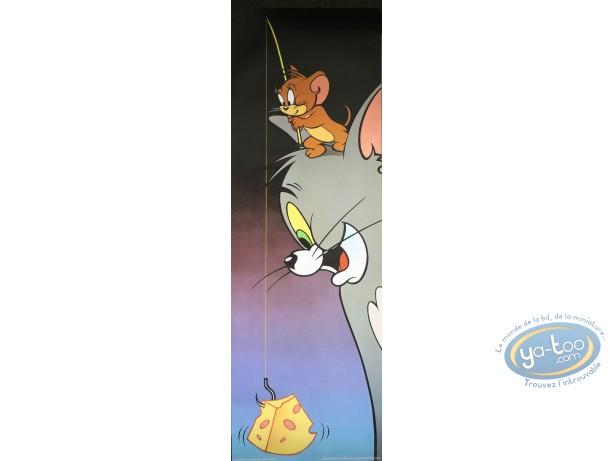 Affiche Offset, Tom et Jerry : La pêche au gruyère 30X90 cm