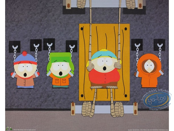 Affiche Offset, South Park : Prisonniers 50X40 cm