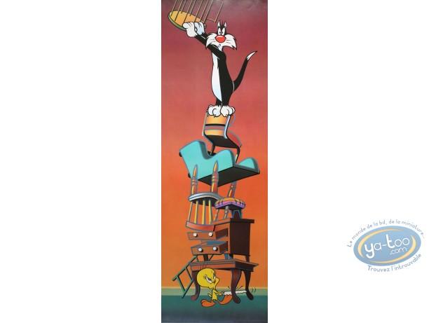 Affiche Offset, Titi : Titi vengeur 30X90 cm
