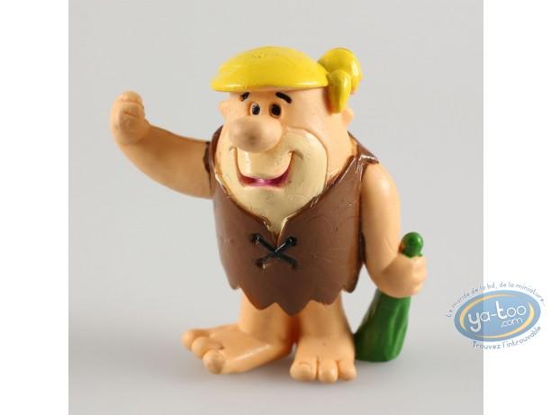 Figurine plastique, Pierrafeu (Les) : Barney batte