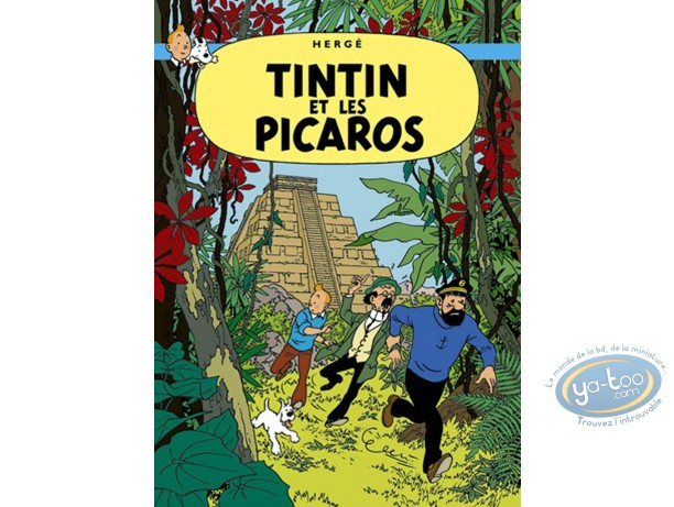 Affiche Offset, Tintin : Tintin et les Picaros