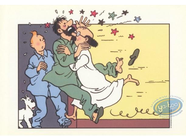 Ex-libris Offset, Tintin : Pyjama