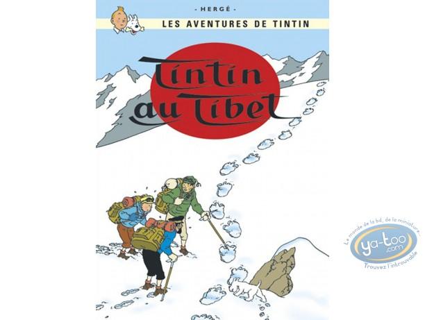 Affiche Offset, Tintin : Tintin au Tibet