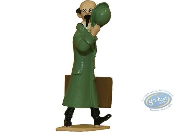 Figurine métal, Tintin : Tournesol chapeau