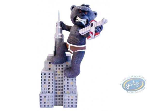 Statuette résine, Bad Taste Bears : Kongo