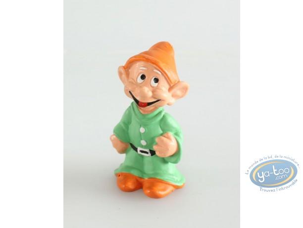 Figurine plastique, Blanche Neige : Simplet, Disney