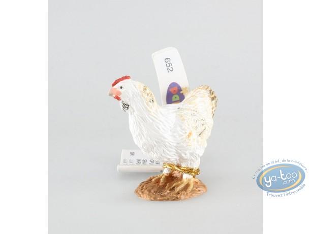 Figurine plastique, Animaux (Les) : Poule