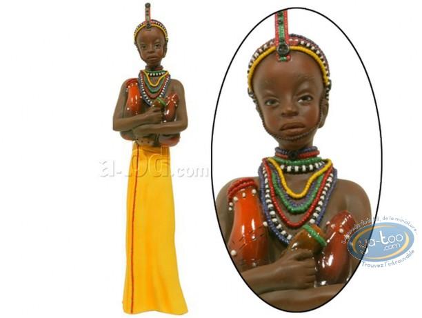 Statuette résine, Safiya - au coeur pur