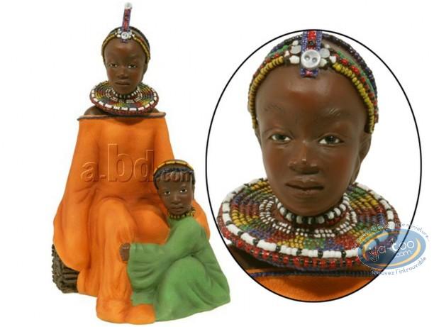 Statuette résine, Salima - en bonnes mains